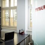 Testraum im Herzog+Glaser Teststudio Leipzig