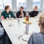 Gruppendiskussion im m-s Teststudio Berlin