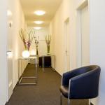 Wartebereich im m-s Teststudio Berlin