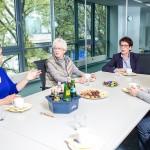 Gemeinsame Gruppendiskussion im m-s Teststudio Bochum