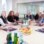 Gruppendiskussion im m-s Teststudio Essen