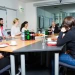 Gruppendiskussion im Teststudio Hamburg