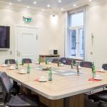 Raum für Gruppendiskussionen im Teststudio Nürnberg