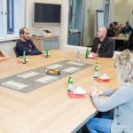 Gruppendiskussion im m-s Teststudio Nürnberg