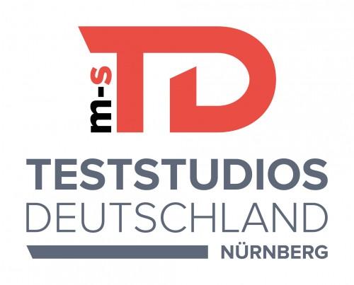 Teststudios Deutschland Logo m-s Nürnberg
