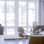 Kundenlounge im Studio München