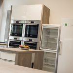 Küchenbereich im ms-Teststudio Hamburg